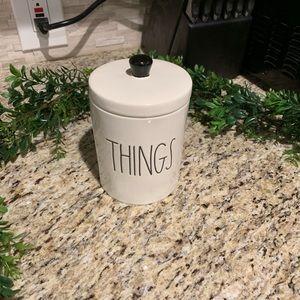Rae Dunn Things Jar